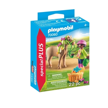Playmobil Girl with Pony 70060