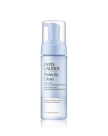 E.Lauder Perfectly Clean Triple-Action 150ml Cleanser/Toner/Make-Up Remover For All Skin Types