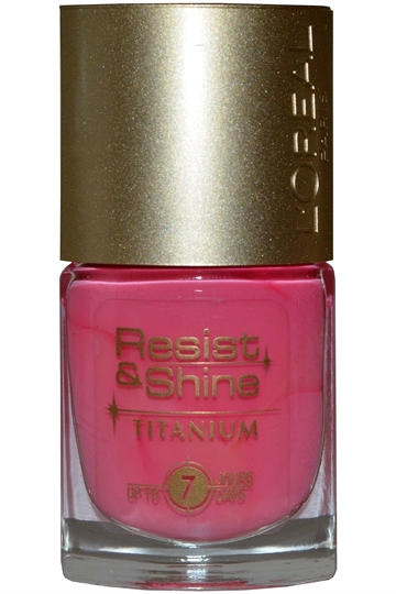 L'Oreal Resist & Shine Titanium Nail Polish 9ml #106