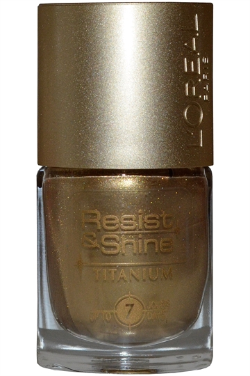 L'Oreal Resist & Shine Titanium Nail Polish 9ml #739