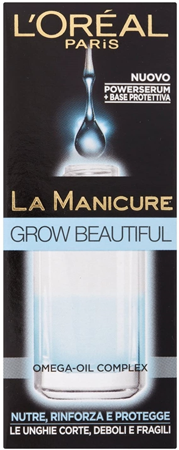 L'Oreal La Manicure Grow Beautiful 5ml Nourishes And Protects