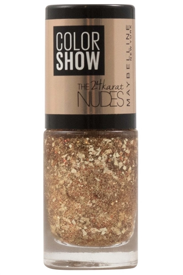 Maybelline Color Show The 24k Nudes Nail Varnish 7ml Bronze Babe #479