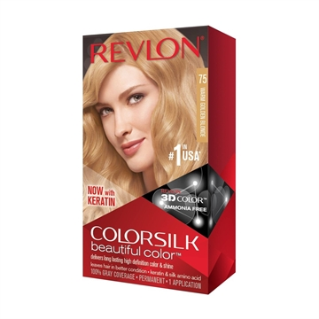 REVLON COLORSILK WARM GOLDEN BLONDE #75