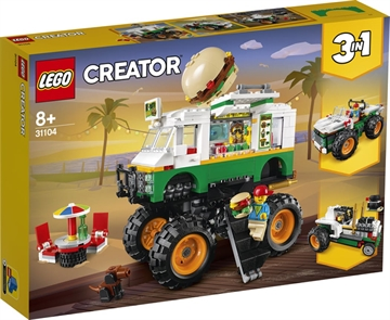 LEGO Creator 31104 Monsterburgervogn