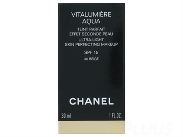 CHANEL Vitalumiere Aqua Ultra Light Skin Perfecting Make Up SPF 15 - 20 Beige 30ml