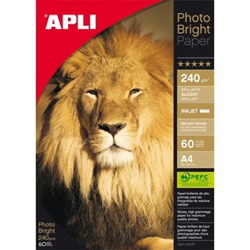Apli Photo Bright A4 (60) 240G