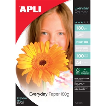 Apli Everyday Paper 180G 10X15 100 Ark