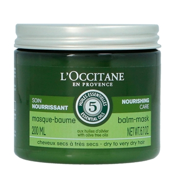 L'Occitane Nourishing Care Balm Mask 200ml Dry To Very Dry Hair With Dive Tree Oils