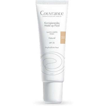 Avène Couvrance Fluid Coverage Foundation SPF 20 2.0 Natural 30ml