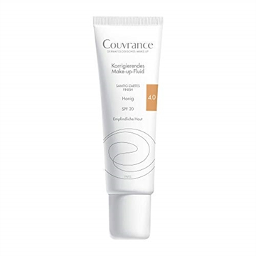 Avène Couvrance Fluid Coverage Foundation SPF 20 4.0 Honey 30ml