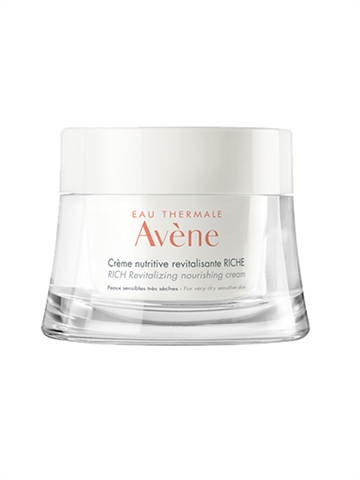 Avene Eau Thermale Rich Rev. Nourishing Cream 50ml Very Dry Sensitive Skin