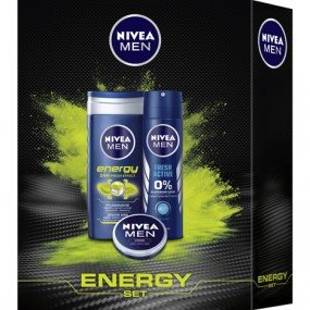 Nivea Men Energy Æske Deo/Shower