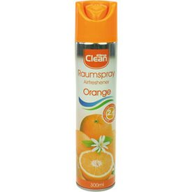 Air Freshener CLEAN 300ml Orange