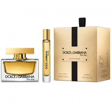 D&G The One For Women Giftset EDP 75ml + EDP 7,5ml