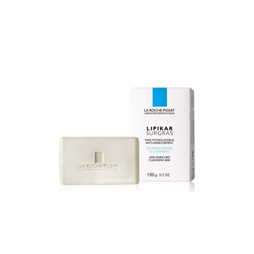 La Roche Lipikar Surgras Cleansing Bar 150ml Sensitive Dry Skin