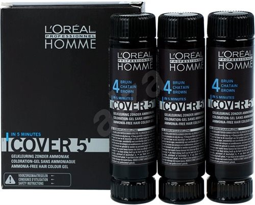 L' Oreal  Homme Cover5 4 3X50ml