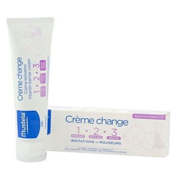 Mustela Creme Change Vitamin Barrier Cream 100ml All Skin Types
