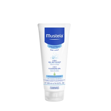 Mustela 2In1 Hair And Body Wash 200ml