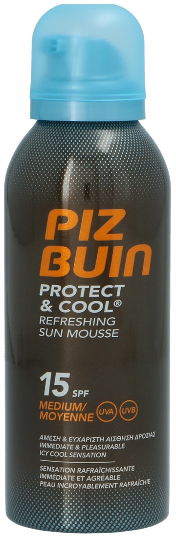Piz Buin Protect & Cool - Refres. Sun Mousse SPF15 150ml