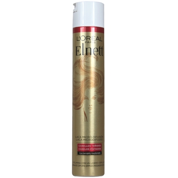 L'Oreal Elnett Lacquer 400 ml Strong Fixation Dyed Hair