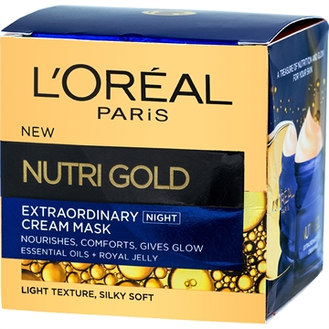 L'Oréal Paris Nutri Gold Extraordinary Cream Mask Night 50 ml