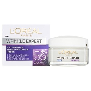 L' Oreal Dermo Exp Wrinkle Exp 55+Night Pot 50ml
