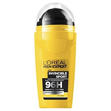 L'ORÉAL MEN EXPERT DEODORANT ROLL ON INVINCIBLE SPORT 50ML