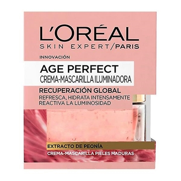 L' Oreal Age Perfect Facial Mask 50 Gr  Peony Extract Mature Skin