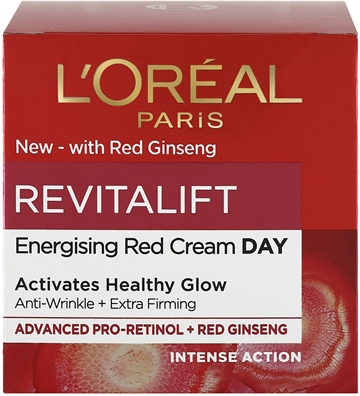 L' Oreal  Revitalift Ginseng Glow Day Cream 50ml