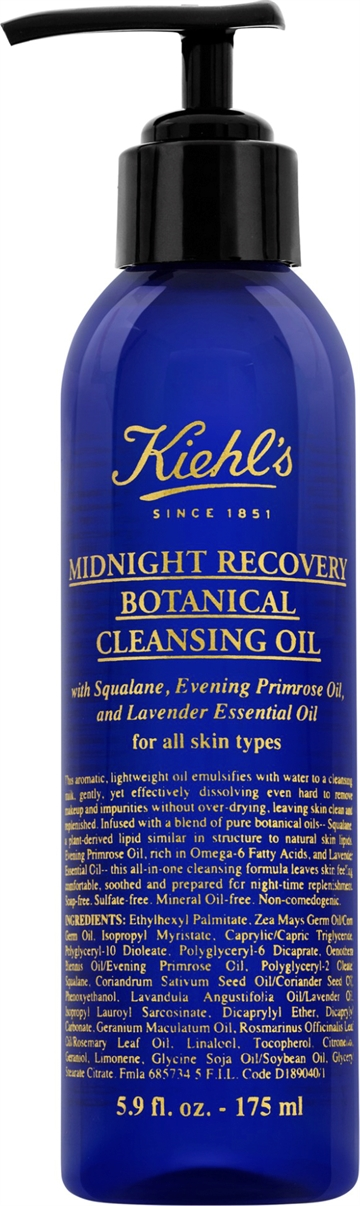 Kiehls Midnight Recovery Botanical Cleansing Oil 175ml