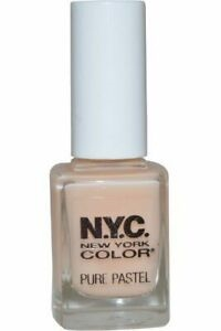 NYC New York Color Pure Pastel Nail Varnish 10ml Pure Pastel