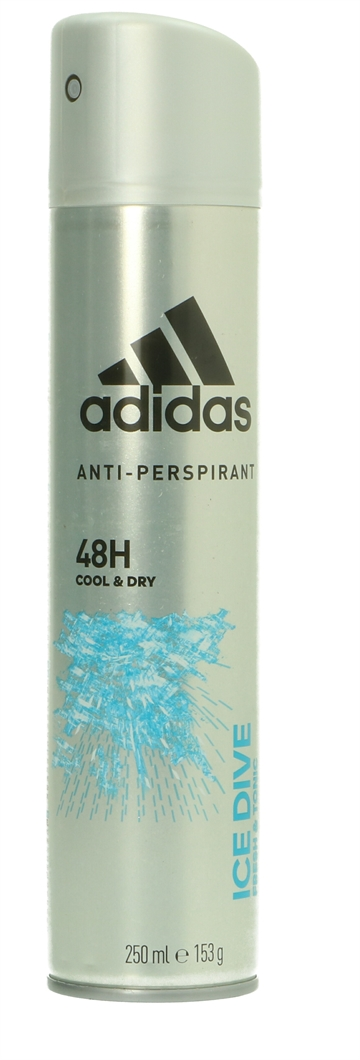 Adidas Deo Spray - Ice Dive 48H Cool & Dry 250 ml