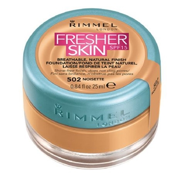 Rimmel Fresher Skin Foundation 25ml 502 Noisette