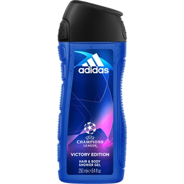 Adidas Shower 250ml 2in1 Champions League