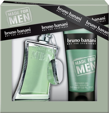 Bruno Banani Man Giftset 200ml Edt Spray 50ml/Shower Gel 150ml