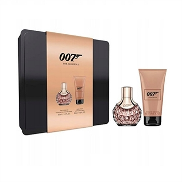 James Bond 007 For Women Giftset 80ml EDP Spray 30ml/Body Lotion 50ml