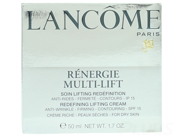Lancome Renergie Multi Lift Redefining Creme 50ml For Dry Skin -  SPF15 - Anti Wrinkle/Firming