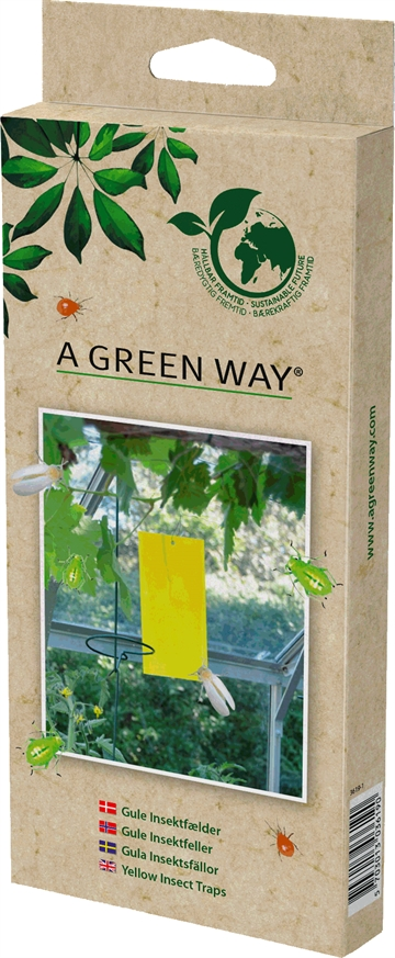 A Green Way Gule Insektfælder 5 Stk. 3619