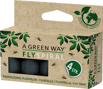 A Green Way Fly Spiral 4 Pak 3620