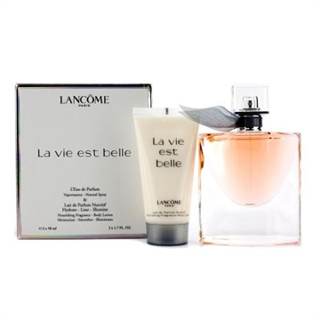 Lancome La Vie Est Belle Giftset 100ml edp spray 50ml/body lotion 50ml