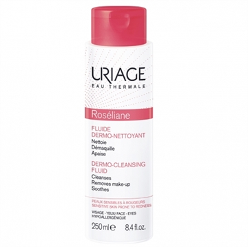 Uriage Roseliane Anti-Redness Dermo-Cleansing Fluid ansigt vask & rensningscreme Unisex 250 ml