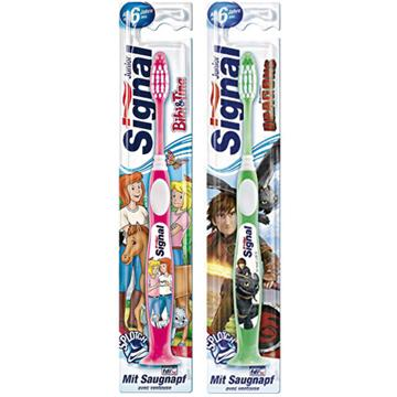 Signal Toothbrush Junior 7-9 Yrs W/Suction
