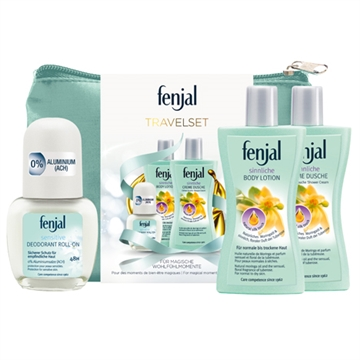 Pp Fenjal Travel Set Roll-On Sensitive 50ml +
