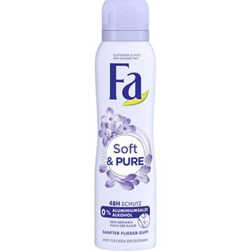 Fa Deo Spray 150ml Soft & Pure , 48H Protection
