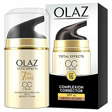 Olaz - Olay Total Effects 50g 7 In 1 Anti-Age Day CC Cream Medium-Dark Tone