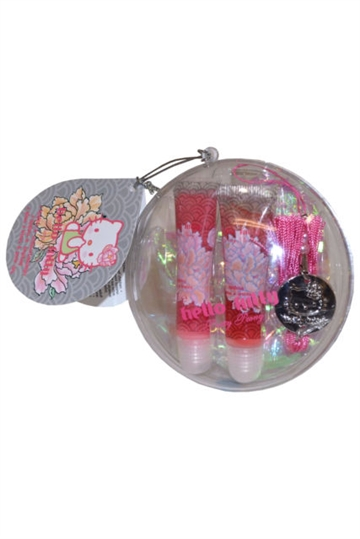 Hello Kitty Hello Kitty Lip Gloss Duo And Keychain
