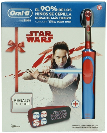 Oral-B Electric Toothbrush Stages Power Star Wars