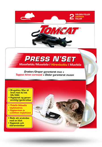 Tomcat Press N`Set musefælde 2 - pak