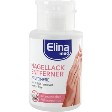 Nail Polish Remover Elina Acetonfree 200ml