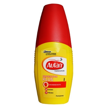 Autan Anti-Mosquito Repellent Spray 100 ml Plus Protection